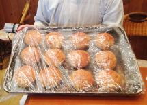 ハンバーガー用のパン